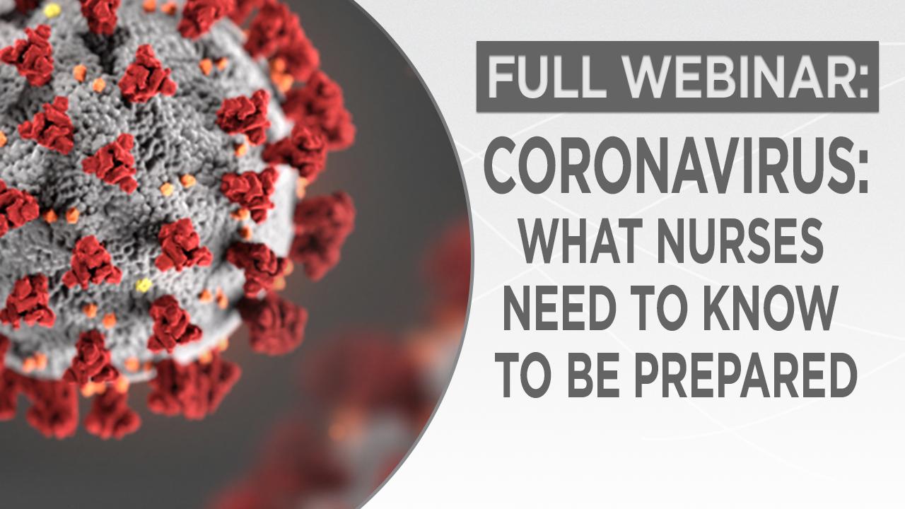 Coronavirus: What Nurses Need to Know